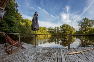 Terrassa cabane de l'étang neuf